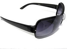 Elegant Shield fashion Sunglasses 100% UV protection Black color 2489GR