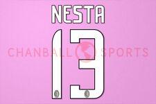 Nesta #13 2008-2009 AC Mailand Homekit Nameset Printing