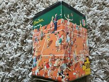 RARE HEYE LOUP 500 PIECE JIGSAW CRAZY TENNIS by BLACHON - COMPLETE WITH POSTER .
