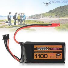VOK 3S Lipo Batterie 11.1V 25C 1100mAh Batterie pour RC Drone Racing Quadcopter
