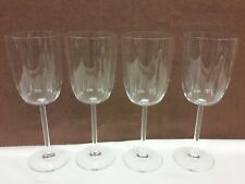 "Lenox OXYGEN Red Wine Glass set of 4 8 1/2"""