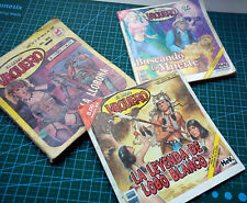El Libro Vaquero cowboys wild wild west Mexican Comic Spanish Lot Of 3