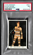 Psa 7 David Bowie Card 1978 Swedish Samlarsaker # 601 Low Pop