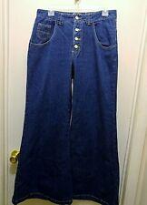 Paris Blues Experience High Waist Bell Bottom Hippy Retro Jeans size 11