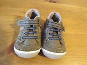STRIDE RITE LEATHER SHOES BABY TODDLER 3SZ 3.5M LIGHT BROWN  excellent cond