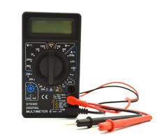 DT-830D -B LCD Digital Multimeter AC/DC 750/1000V Amp Volt Ohm Tester Meter New