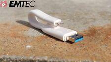 EMTEC ICOBRA CLE USB 3.0 DUO Lightning T500 - 32 Go 64 Go pour iPhone & iPad