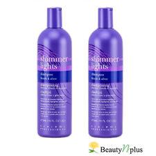 Clairol Shimmer Lights Original Shampoo 16 oz (Pack of 2)