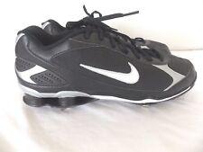 Nike Zoom Shox Baseball Shoes w/Cleats Black/White Size 15 317029-011 NWOT