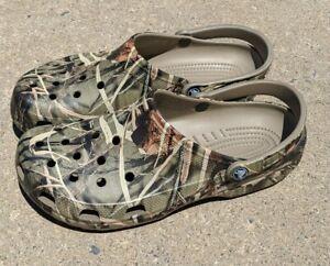 Crocs Advantage Max 4 HD Camo Shoes Men's Size 12 EUC