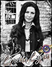 "Loretta Lynn ""Rock, Pop Music"" Personalized T-shirts"