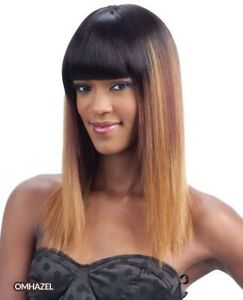 FreeTress Equal Synthetic Long Yaky Straight Hair Wig  Marcella