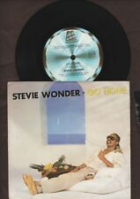 "Stevie Wonder - Go Home - 1985 Motown 7"" picture sleeve single 45rpm"