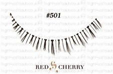 style #501 Red Cherry 100% Human Hair Ultimate False lashes bottom / lower