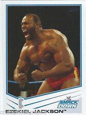 Ezekiel Jackson 2013 WWE Topps Triple Threat Trading Card #55 Smackdown