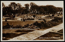 EARLY RP POSTCARD - BEACH HOUSE PARK, WORTHING