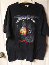 Dragonforce Inhuman Rampage Tour Concert Shirt Adult X-Large Rock Tee