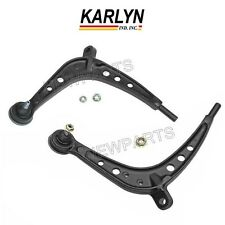 NEW BMW E46 Pair Set of 2 Front Lower Control Arms & Ball Joint Assembly Karlyn