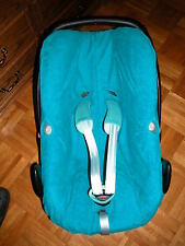 Sommerbezug Schonbezug Frottee für Maxi-cosi Pebble + Pebble Plus NEU petrol
