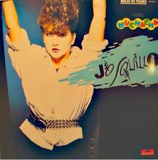 JO SQUILLO ELECTRIX i love muchacha/instrumental MAXI 1984 Italo Disco VG++