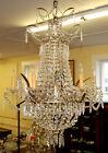 Exceptional Louis XVI Marie Antoinette Style 6 Light Chandelier 42 X 28