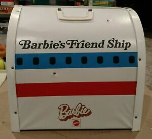 Vintage Barbie Friend Ship United Airline Airplane Plane Play Set ~ 1970's