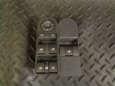 2007 VAUXHALL ASTRA 1.8i VVT Design 5DR ESTATE BOTH FRONT WINDOW SWITCH 13228699