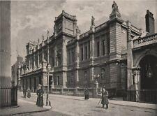 London University. London. Education 1896 old antique vintage print picture