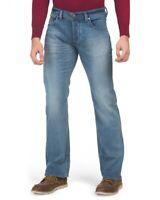 Diesel Larkee Cotton Straight Fit Blue Denim Jeans $178 Size 30,32,34,36,38