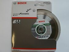 DIAMOND CUTTING DISC FOR TILES & CERAMICS 115mm BOSCH 2608602201