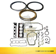 Full Gasket & Rings Set Fits 00-09 Chevrolet Astra Zafira 1.8 L DOHC X18XE - 040