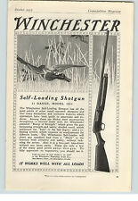 20x30 Winchester Rifles and Cartridges 1912 Advertising Hunting Poster