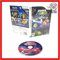 Super Mario Galaxy Nintendo Wii 2007 PEGI 3 Action Adventure Video Game PAL