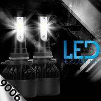 XENTEC LED HID Headlight kit 9006 White for 1990-2001 Chevrolet Lumina