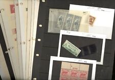 US, Amazing accumulation of OLD MINT(much is NH) Stamps in stock pages