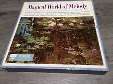 Magical World of Melody 10 Vinyl Record Set ~ Readers Digest 1964 GUC