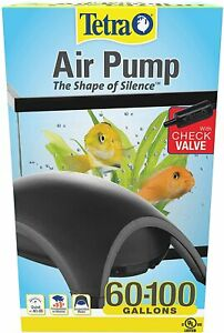 Tetra Whisper Air Pump with Minimal Noise and Maximum Flow, 60 to 100-Gallons