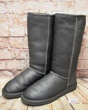 Womens UGG Australia Grey Classic Tall Winter Boots UK 7 EUR 40 - Model 5815