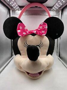 Minnie Mouse Jumbo Easter Plush Basket. NEW
