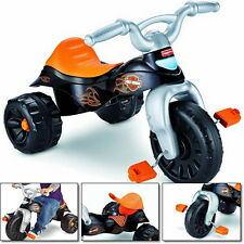 Kids Bike Motorcycles Tricycle Harley Tough Trike Davidson Race Riders Toys Baby