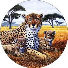 Cheetah & Cub Spare Tire Cover Wheel Cover Jeep Rv Camper(all sizes available)