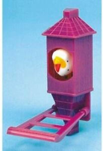 Penn Plax small Bird In Tower toy for birds cage Traditional fun plastic Bobbing
