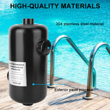 Stainless Steel Swimming Pool Heat Exchanger Heater Pool Thermostat Equipment