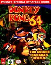Donkey Kong 64: Prima's Official Strategy Guide, Mario De Govia, Donato Tica, Je