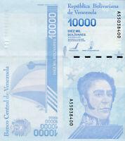 Venezuela Banknote 10000 Bolivares 2020 P B379b Geldscheine aus Südamerika UNC.
