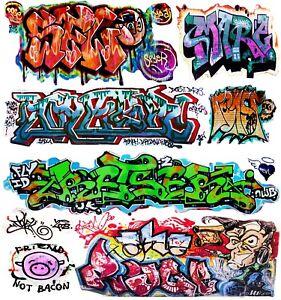 O Scale Custom Graffiti Decals #37 - Weather Your Box Cars, Gondolas & Hoppers!