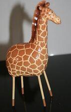 """Cute Wildlife Giraffe Painted Metal Figurine 5.5"""" 4464-5"""