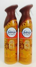 2X Cans Febreze Air Effects Toasted Almond Air Refresher 9.7oz, Retired, Limited