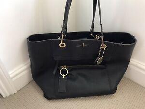 Womens JAsper Conran Black Leather Bag