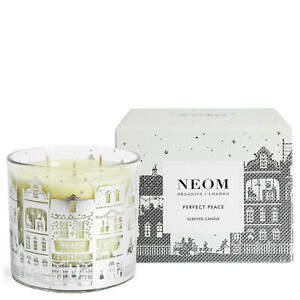 NEOM Organics London PERFECT PEACE 3 wick Christmas Candle 420g Limited Edition